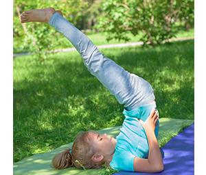 Kinderyoga bij de YogaSchool